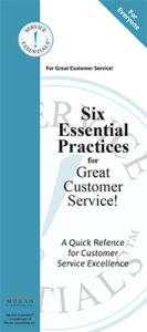 Service Essentials™ for Everyone Practice Card