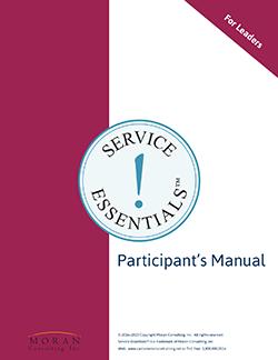 Service Essentials™ For Leaders Participants Manual